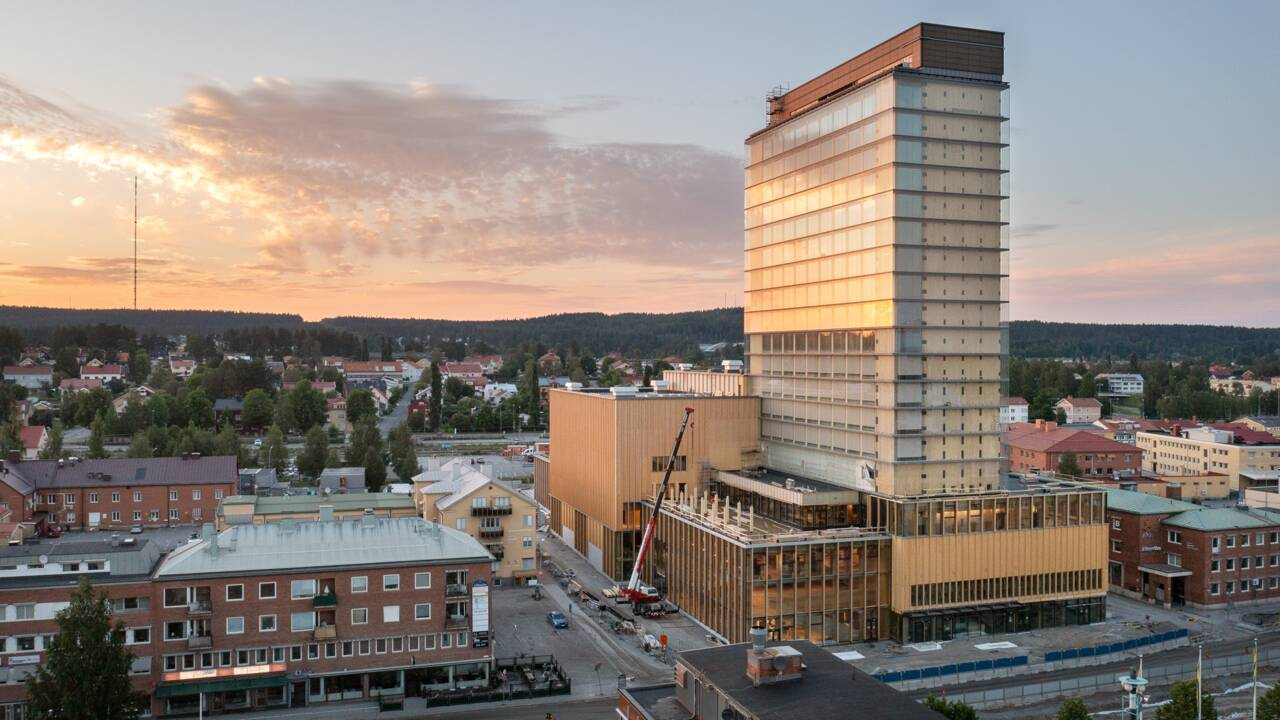 La Suède inaugure la plus haute tour en bois au monde