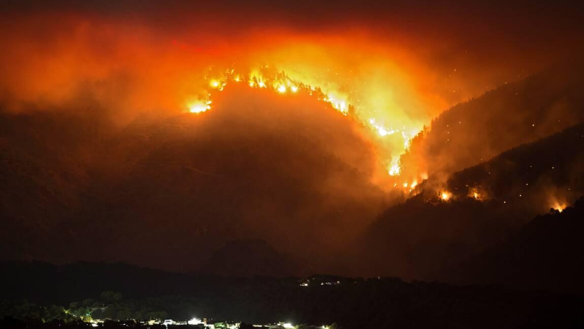 Espagne: la lutte contre un incendie facilitée par la pluie