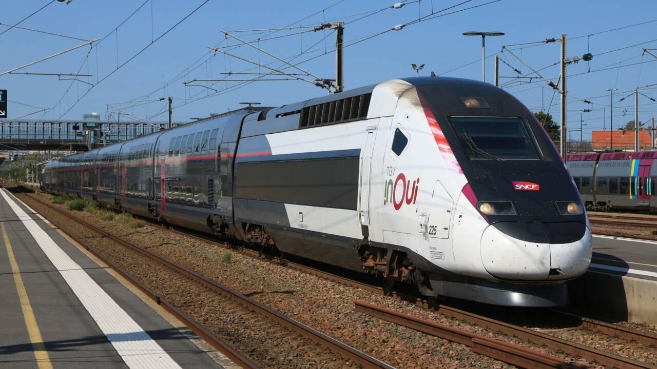 Paris : la SNCF fête les 40 ans du TGV