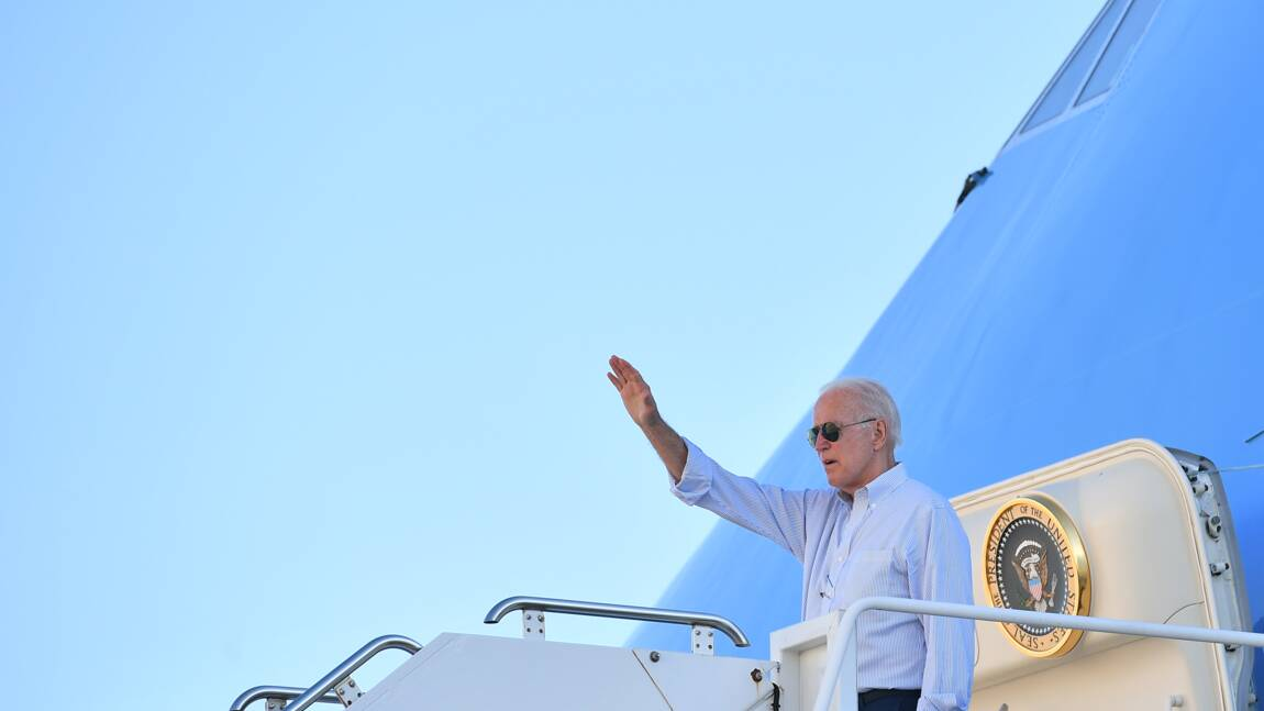 Etats-Unis : Biden fait sa première visite de président dans l'Ouest américain