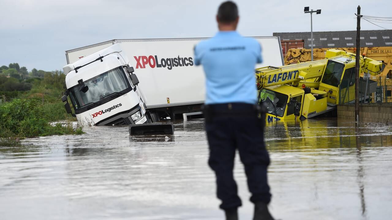 Orages et pluies record dans le Gard : une personne portée disparue