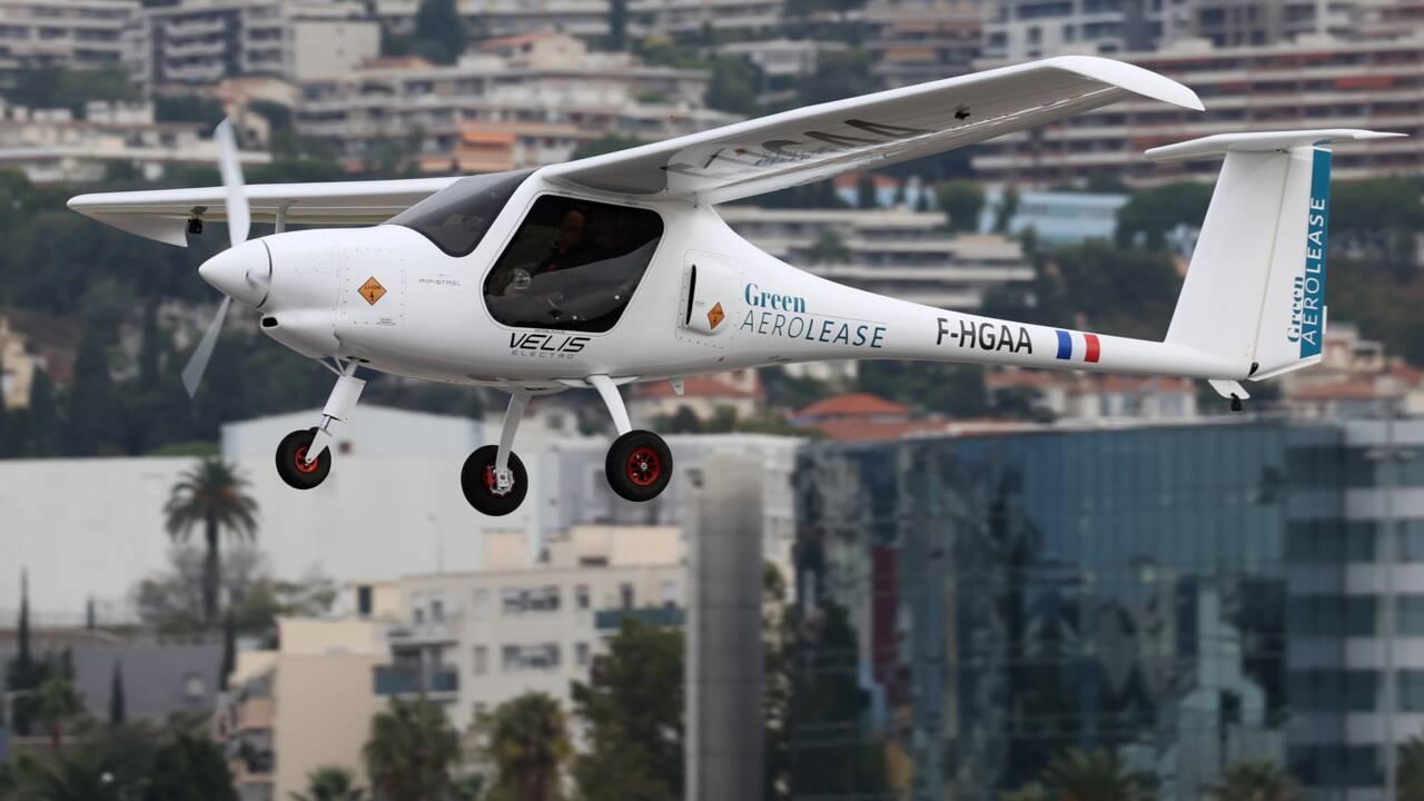 Le Prince Albert de Monaco promoteur de l'avion électrique