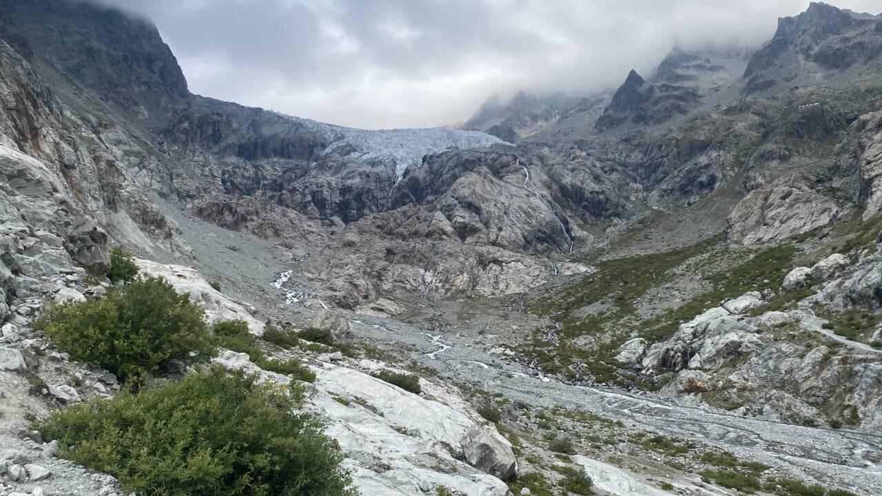"""""""Nos glaciers sont en réa"""" : dans les Hautes-Alpes, les Ecrins en première ligne du dérèglement climatique"""