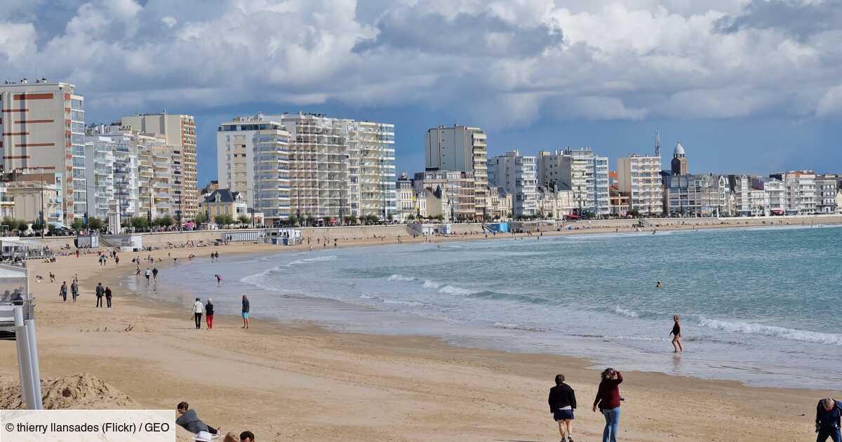 Vendée : l'épave d'un bateau échoué depuis 102 ans réapparaît sur une plage des Sables d'Olonne
