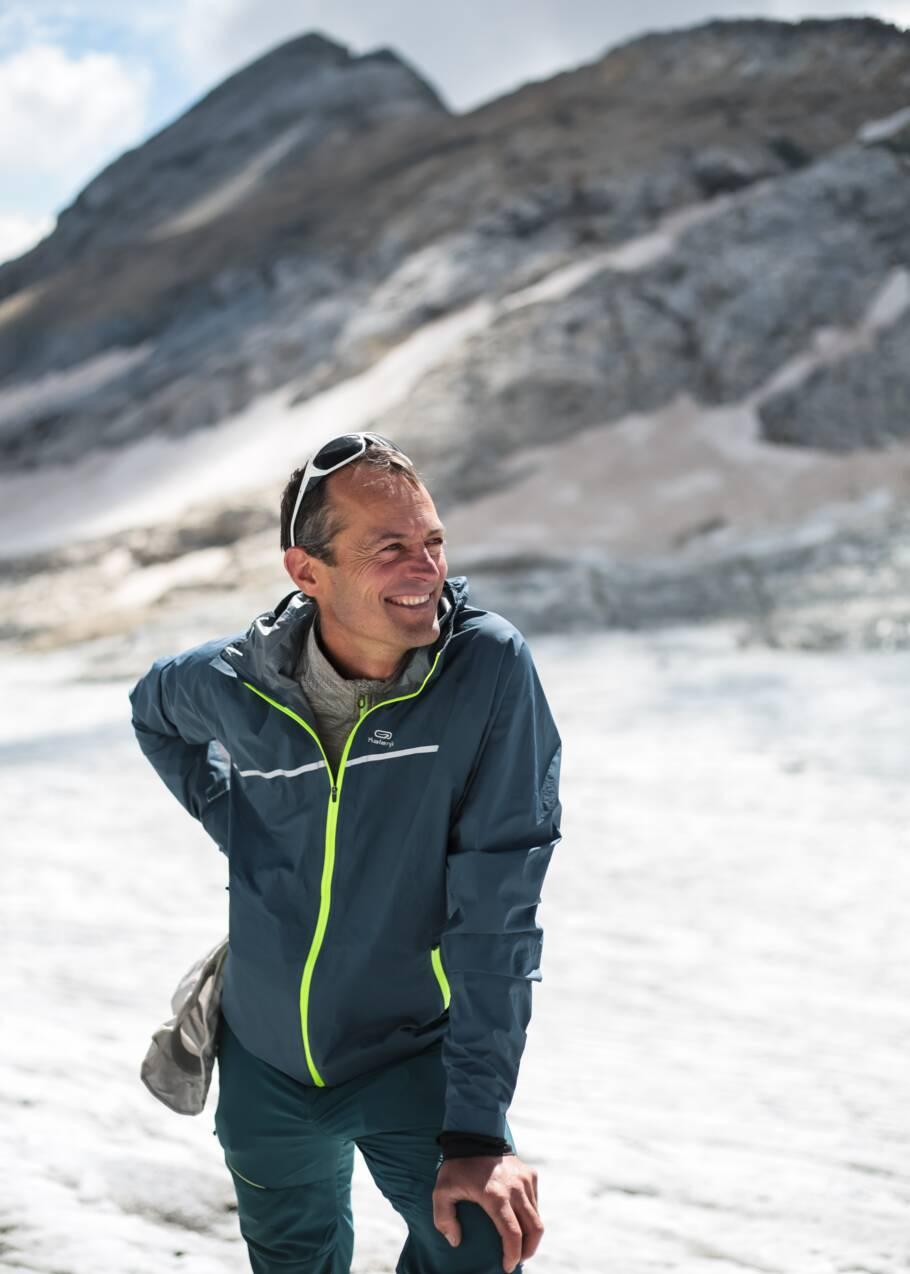 Pierre René, amoureux des glaciers pyrénéens et son monde perdu