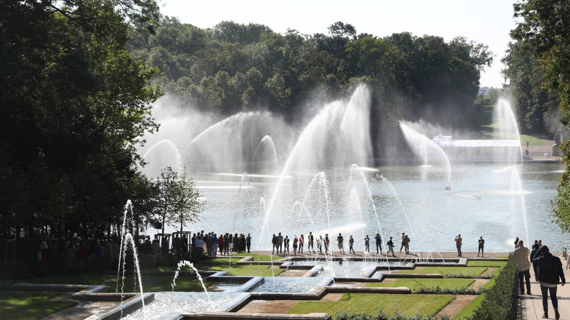 Le Domaine de Sceaux inaugure des cascades entièrement restaurées et de spectaculaires jeux d'eau