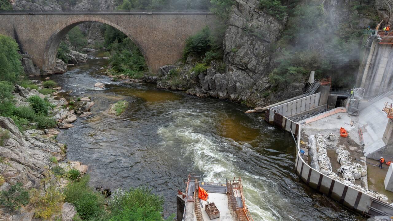 """Un barrage de l'Allier réaménagé """"sur-mesure"""" pour les saumons sauvages"""
