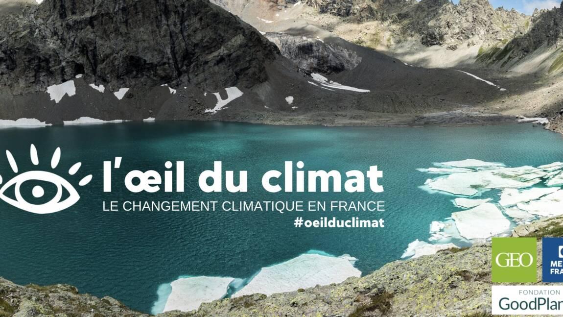 L' oeil du climat : votez pour la photo qui illustre le mieux le changement climatique en France
