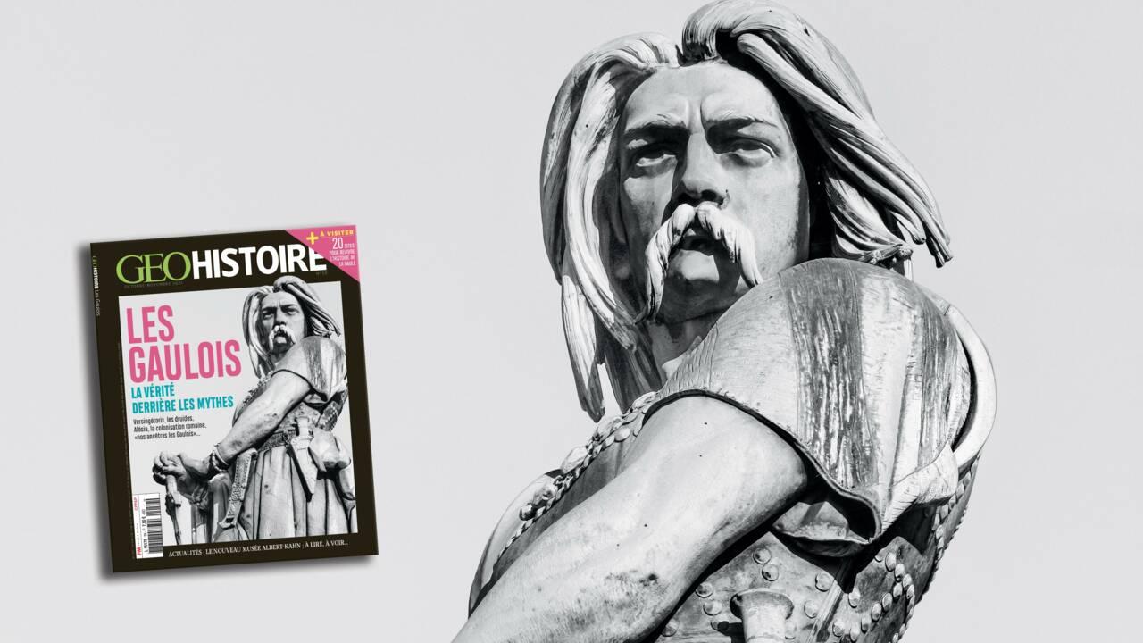 La vérité derrière les mythes, les Gaulois au sommaire du nouveau numéro de GEO Histoire