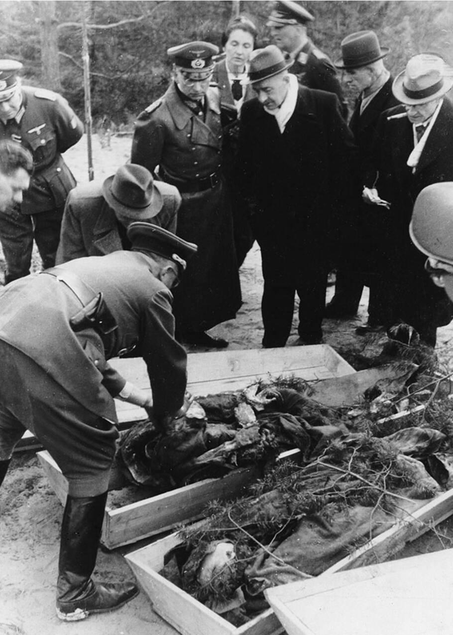 Katyn, un crime de masse longtemps resté tabou