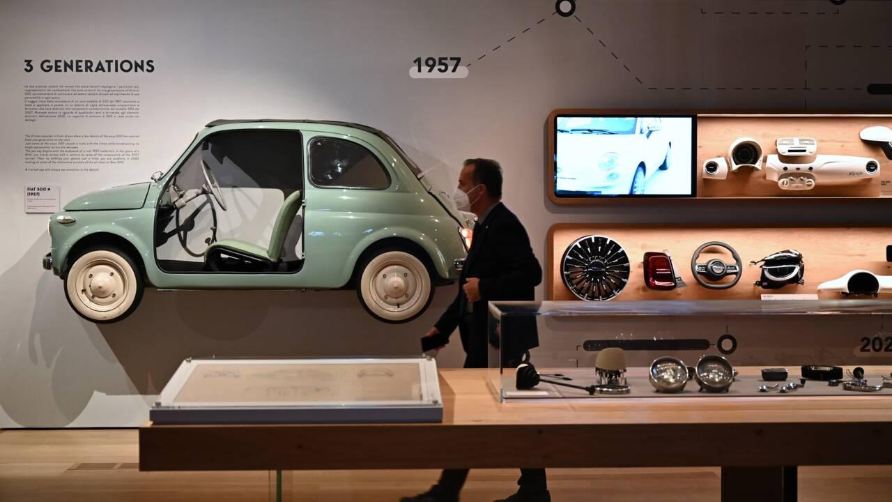 La légendaire piste d'essai de Fiat transformée en immense jardin suspendu