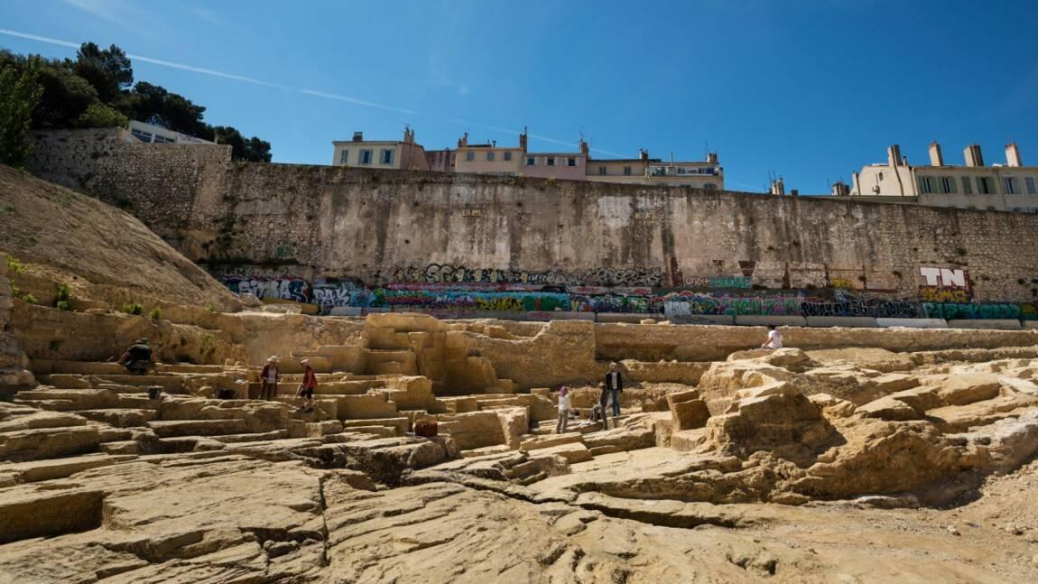 Carrière de la Corderie à Marseille : les vestiges de la discorde bientôt réenfouis ?
