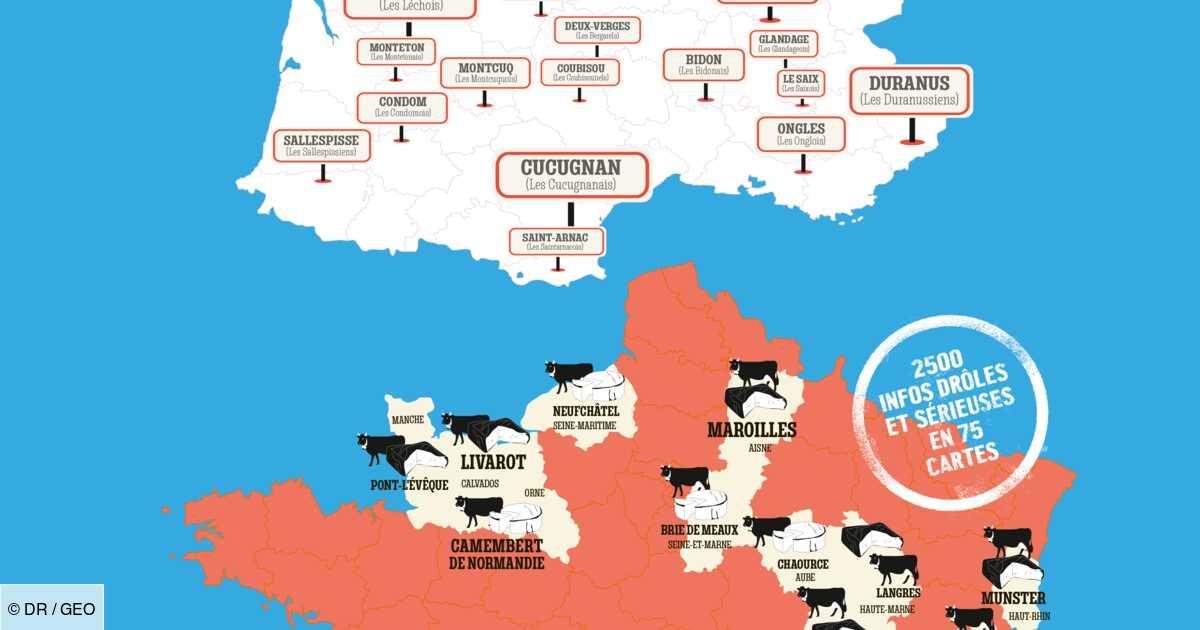 Cartomania France, l'atlas insolite qui vous fait (re)découvrir l'Hexagone autrement