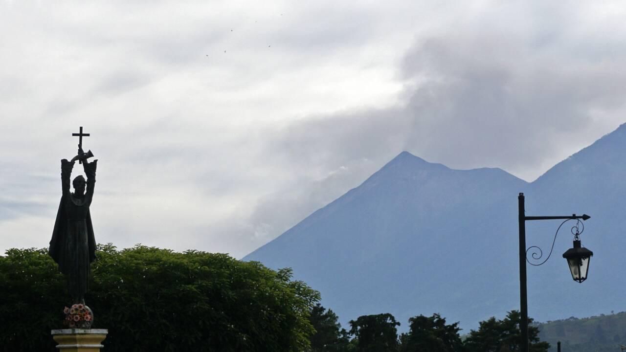 Guatemala: fin de l'éruption du volcan de Fuego, pas de victime