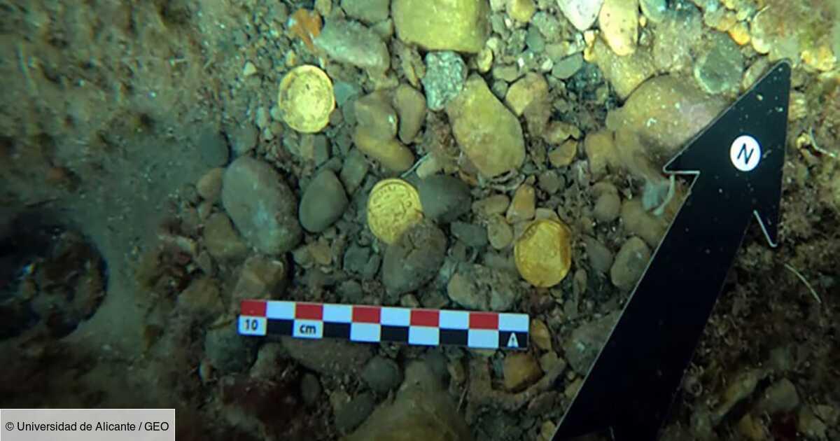 Des plongeurs découvrent un trésor de 50 pièces romaines au large de l'Espagne