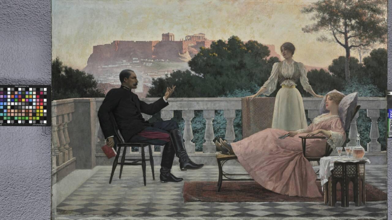 """Exposition """"Paris-Athènes"""" au Louvre : les secrets d'une certaine histoire d'amour franco-grecque"""
