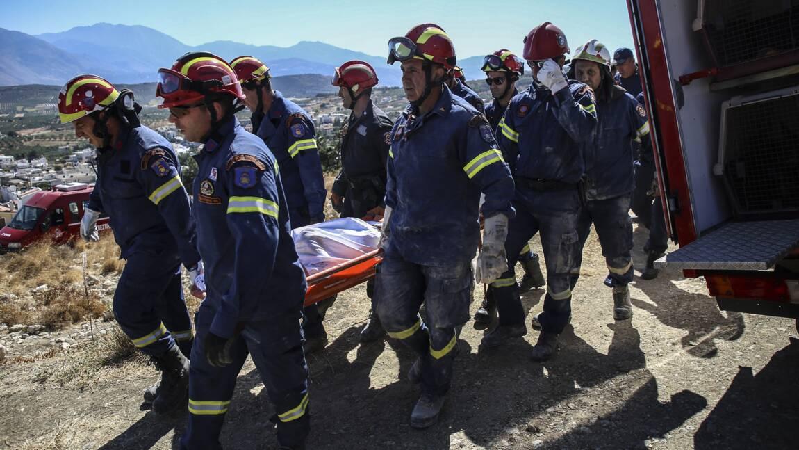 Grèce: un mort et 11 blessés dans un séisme en Crète
