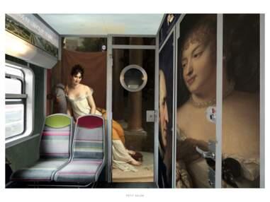 Le RER C se transforme en « Train Paris Musées ».