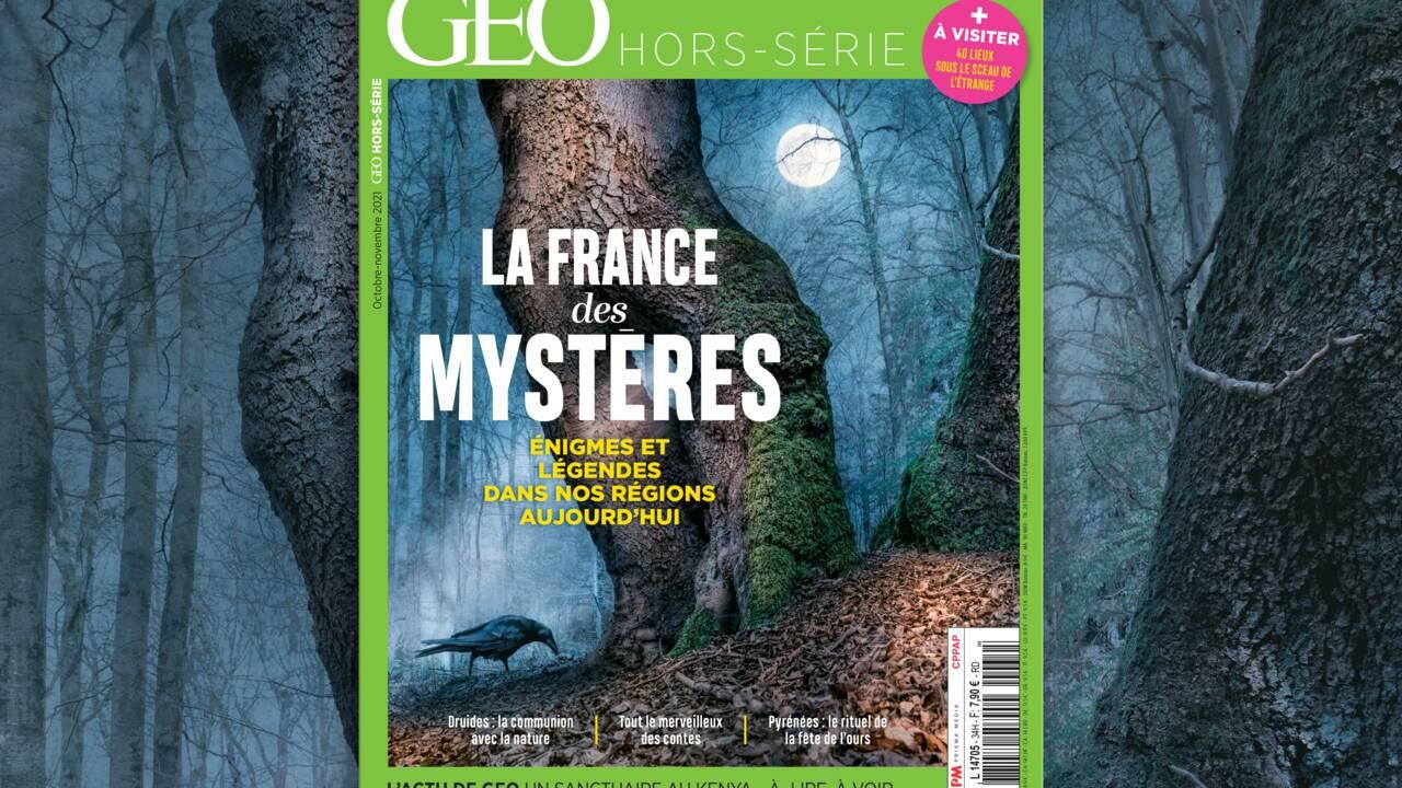 Enigmes et croyances d'aujourd'hui : la France des mystères au sommaire du nouveau hors-série GEO