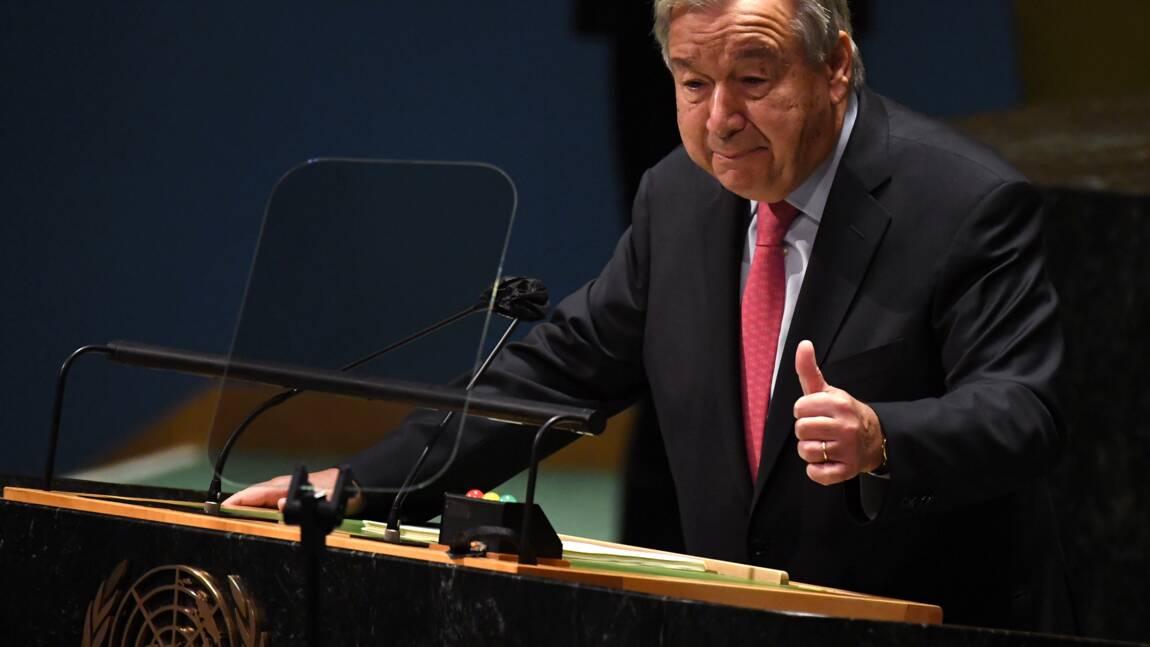 "Climat: Guterres met en garde contre un ""avenir infernal"""