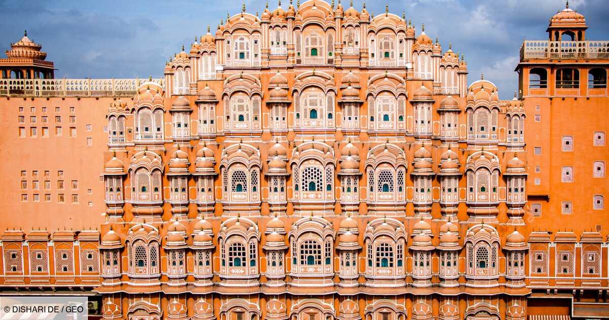 Palais des Vents en Inde : une prouesse architecturale