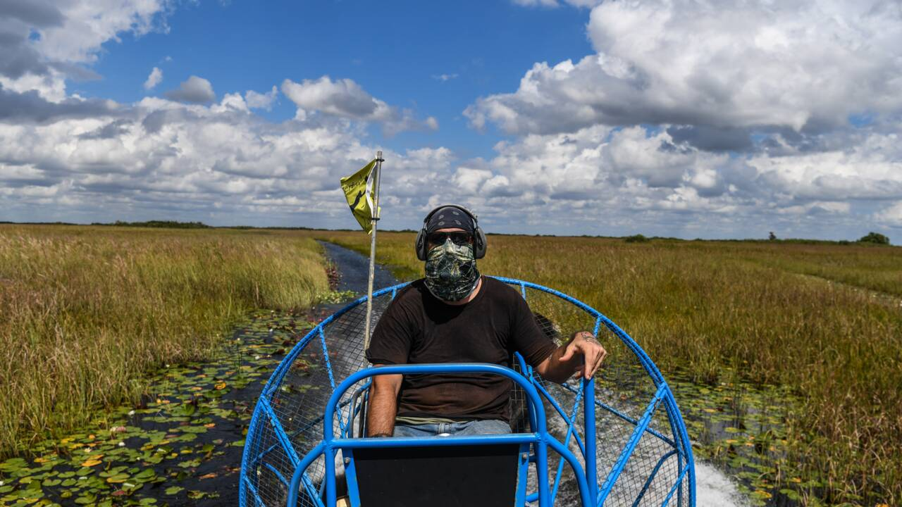 Le marécage des Everglades, un joyau de Floride menacé par le changement climatique