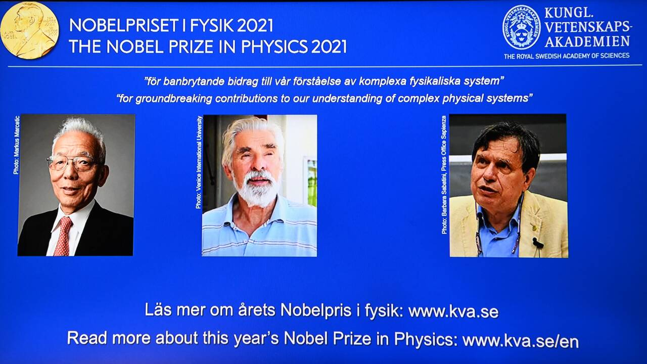 Le Nobel de physique sacre deux experts du climat et un théoricien italien