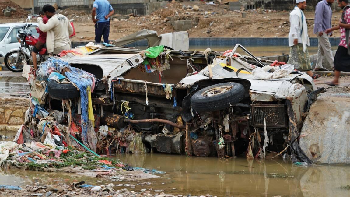 Le sud du Yémen balayé par des inondations, un mort
