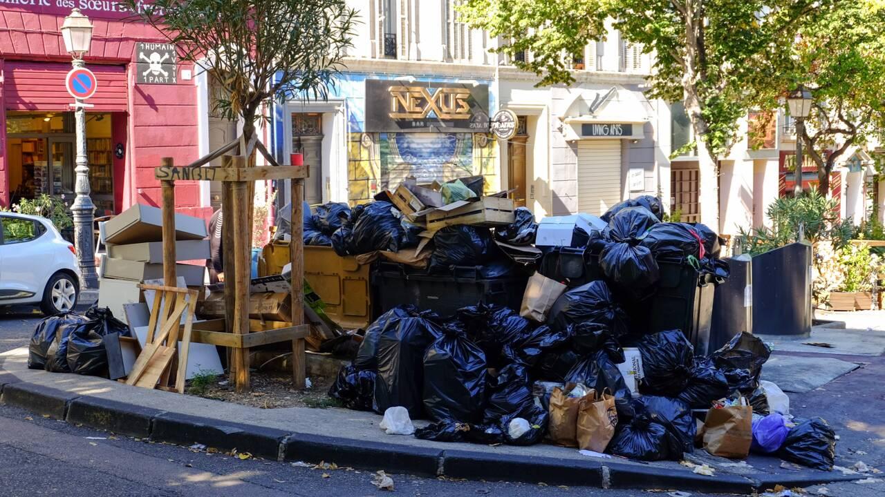 Marseille, l'État tape du poing face aux ordures envahissant les rues