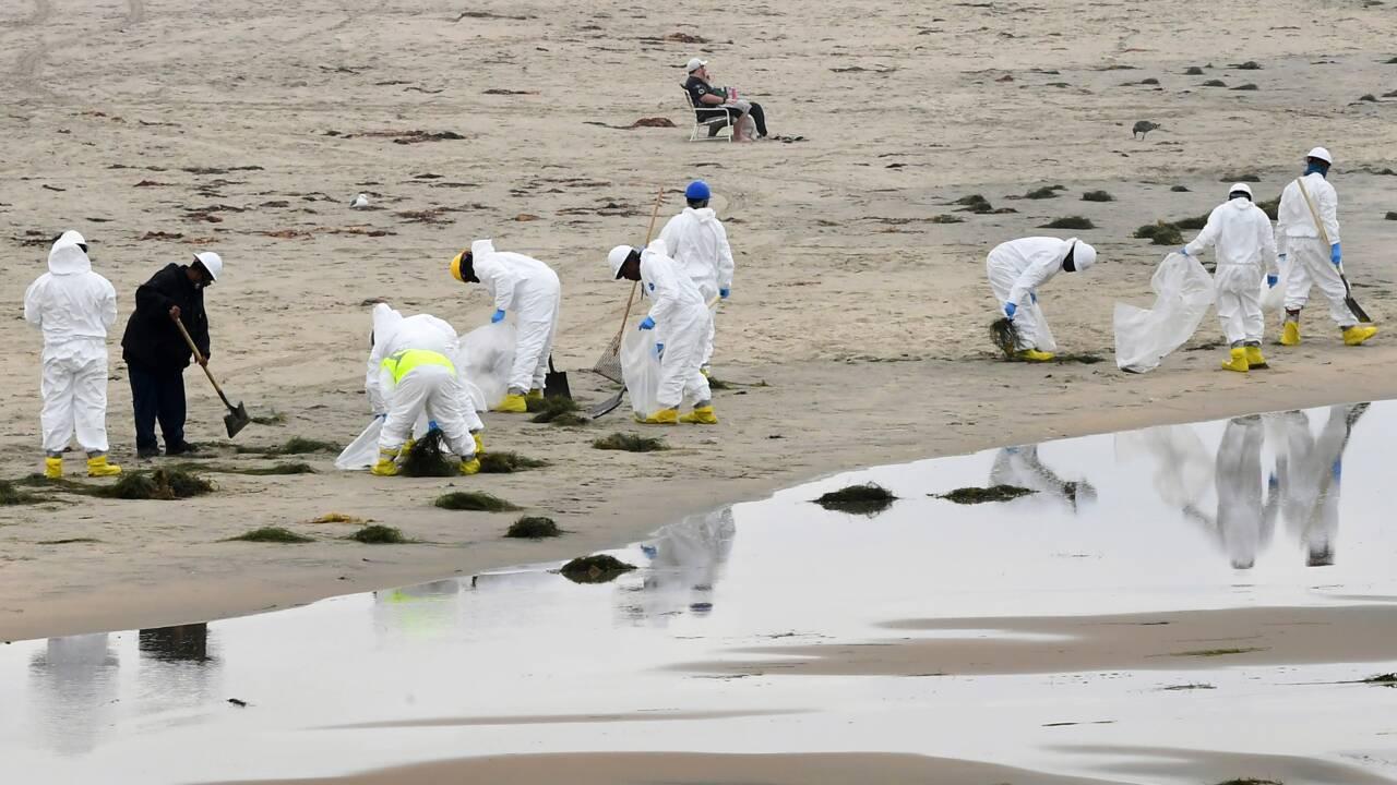 Marée noire en Californie: la fuite sur l'oléoduc peut-être vieille d'un an