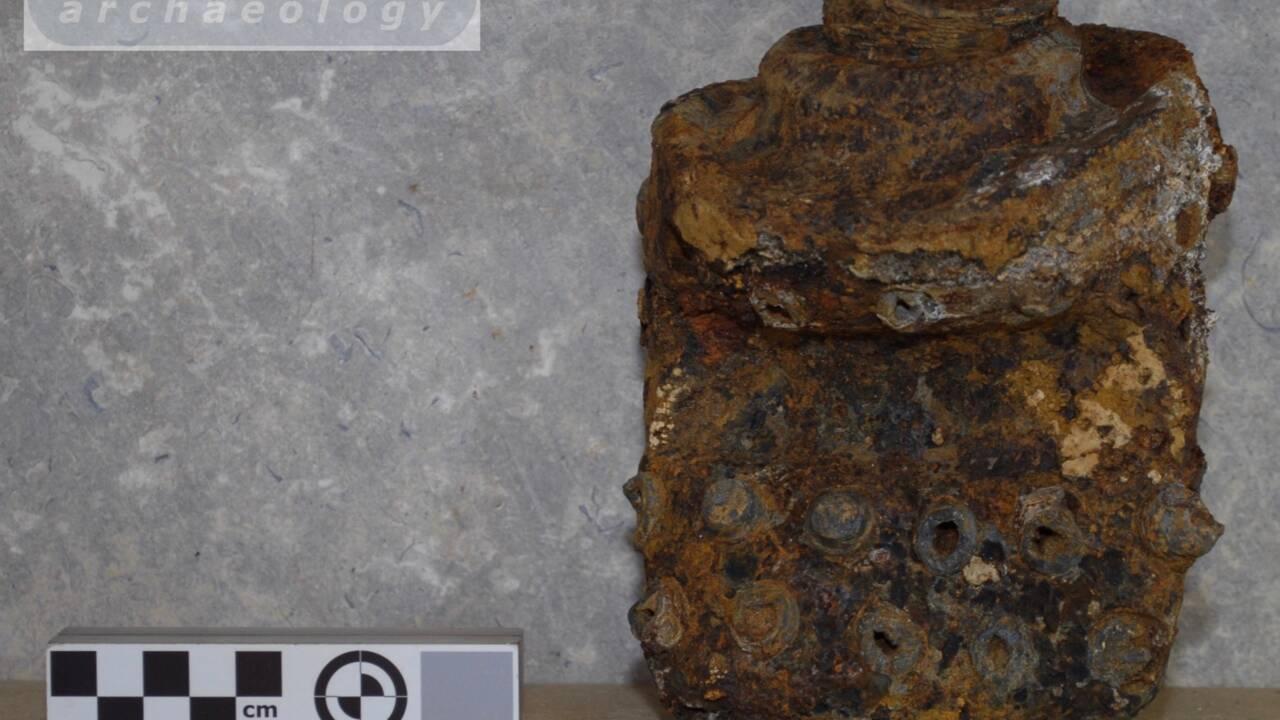 Des archéologues exhument les vestiges d'un missile V2 nazi lancé sur Londres en 1945