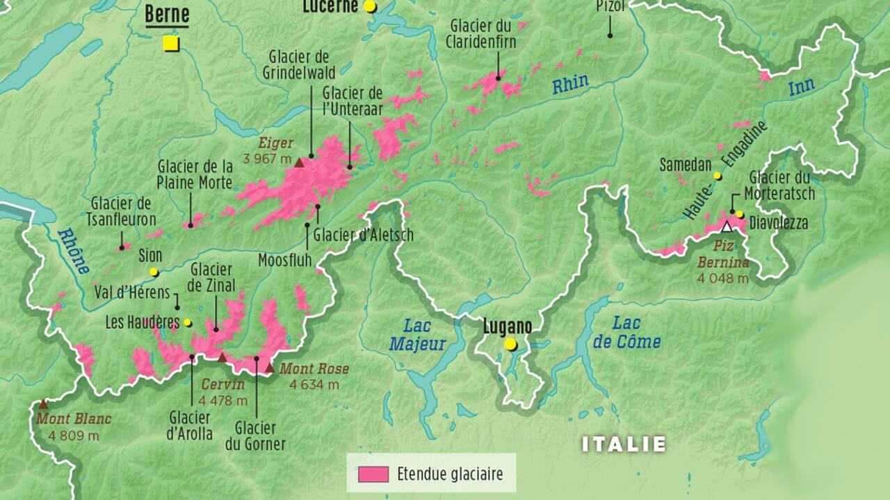 Changement climatique : la Suisse à la rescousse de ses glaciers