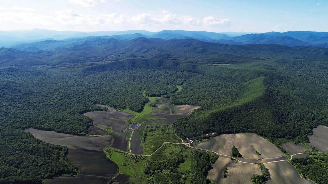 Le plus grand cratère d'impact depuis 100 000 ans identifié en Chine