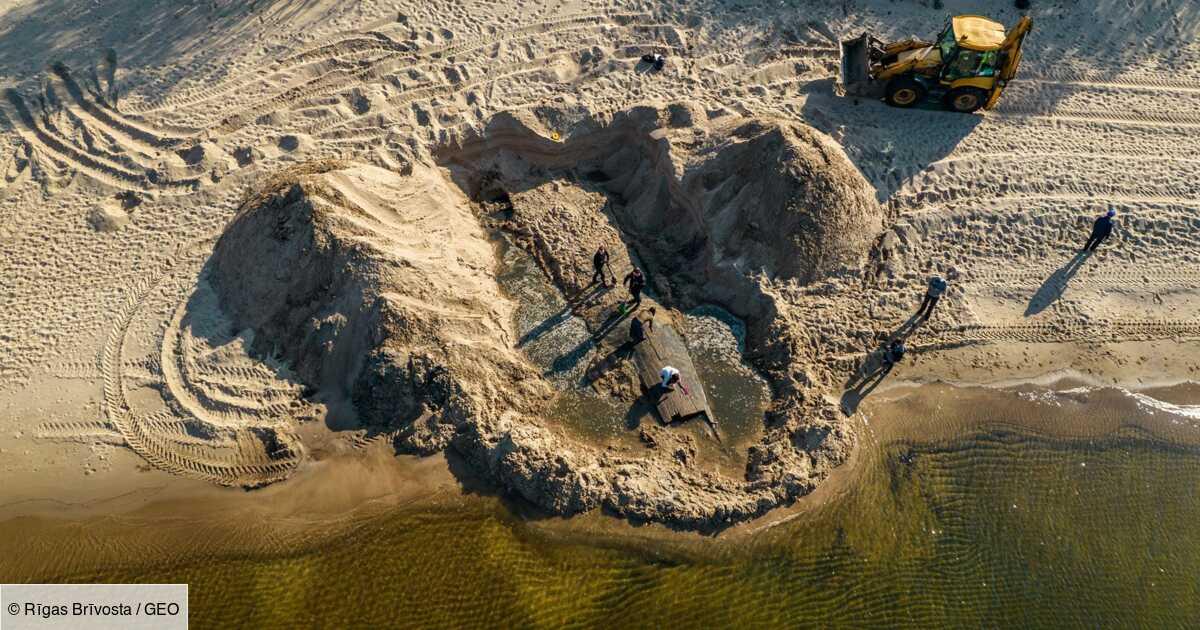 Une épave historique découverte près de Riga