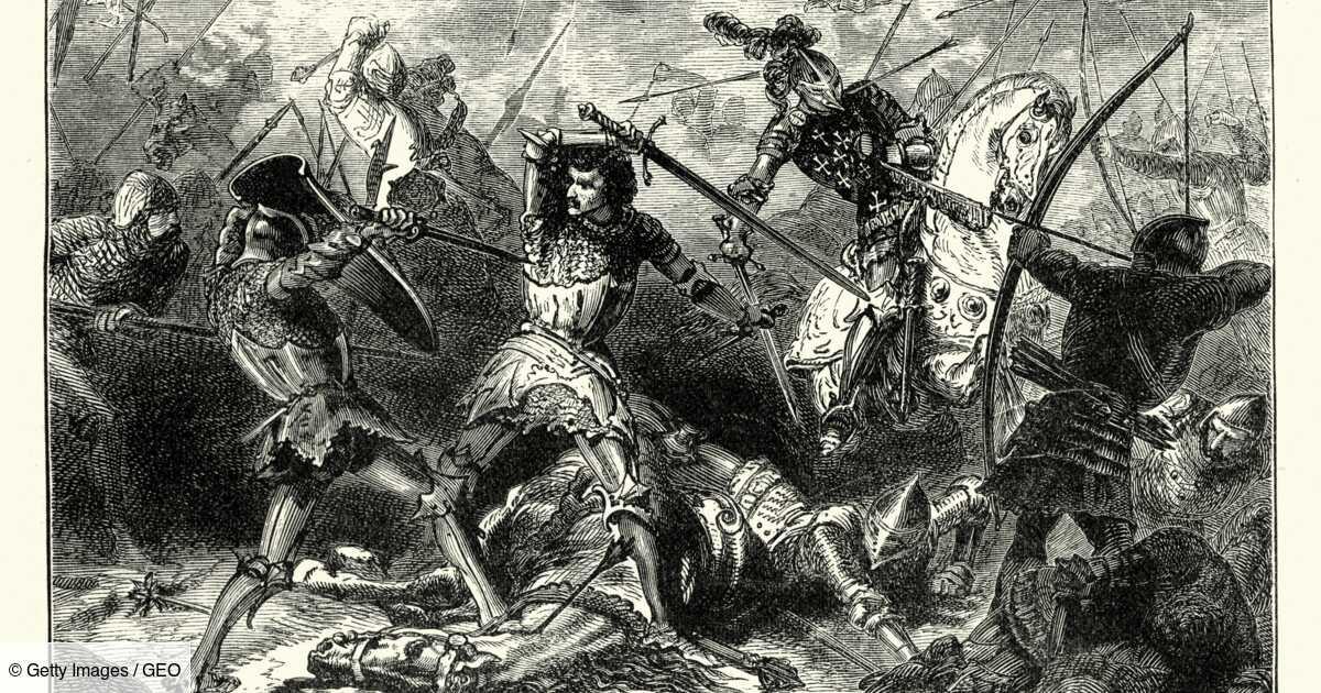 Bataille d'Azincourt : l'une des plus grandes défaites françaises en 5 chiffres