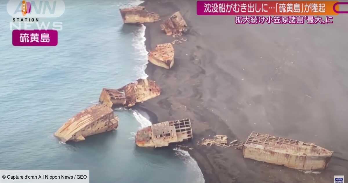 Japon : des navires de la Seconde Guerre mondiale remontent à la surface
