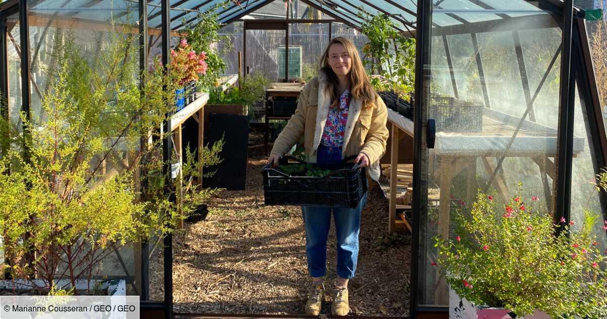 """Portrait : avec sa chaîne YouTube """"Ta Mère Nature"""", elle raconte sa reconversion comme agricultrice urbaine"""