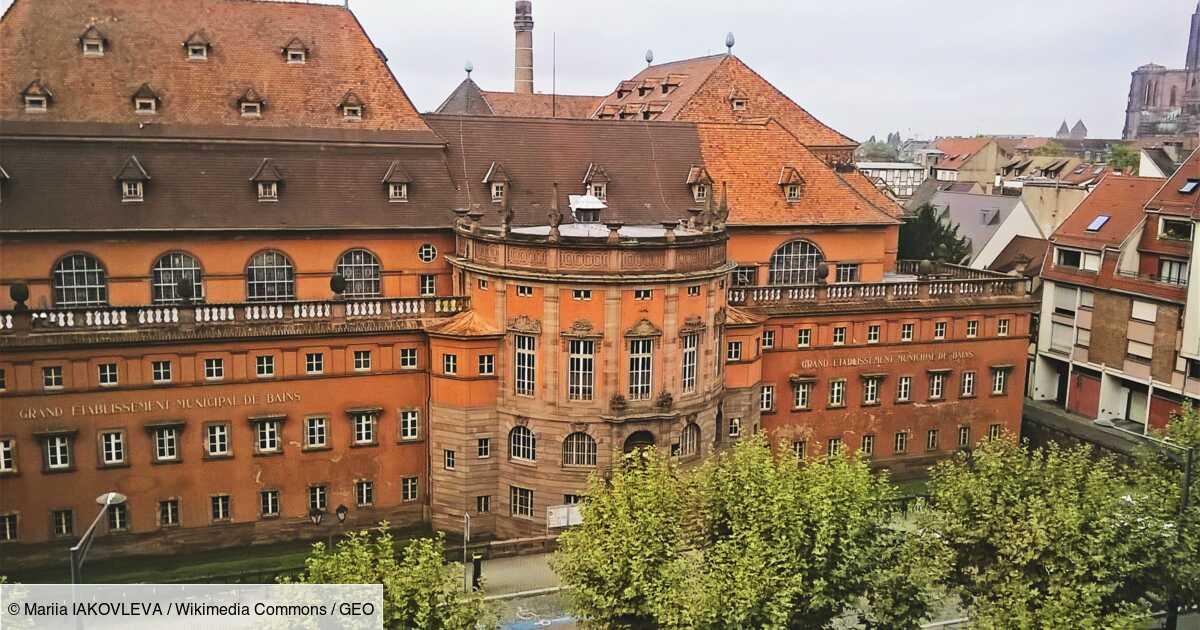 Strasbourg retrouve ses bains municipaux historique, après trois ans de rénovation