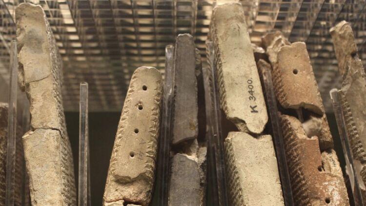 tablettes d'argile