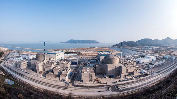 Centrale nucléaire de Taishan en Chine