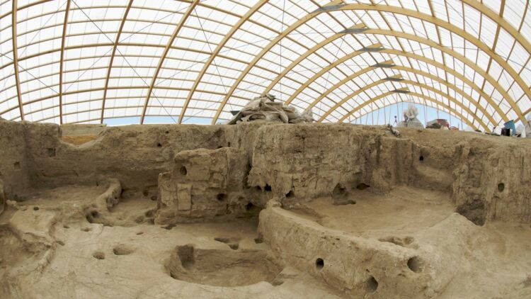 Site archéologique de Çatal Höyük en Turquie