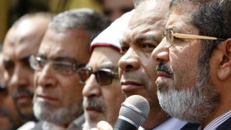 """Mohammed Mursi, porte-parole des Frères musulmans, a formé le parti """"liberté et justice"""" après la chute d'Hosni Moubarak en février 2011© REUTERS."""