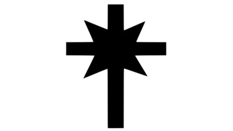 La croix à huit branches, symbole de l'Église de la Scientologie. © WIKIMEDIA.