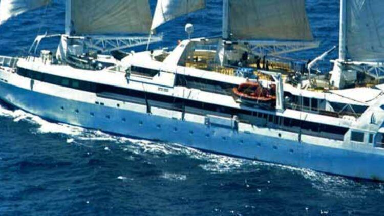 """En avril 2008, l'équipage du voilier français """"Le Ponant"""" a été pris en otage par des pirates somaliens. © REUTERS."""