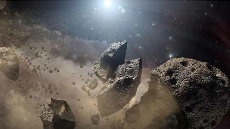 astéroïde espace