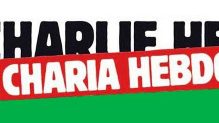 La Une de Charlie Hebdo, rebaptisé Charia Hebdo. © Charlie Hebdo.