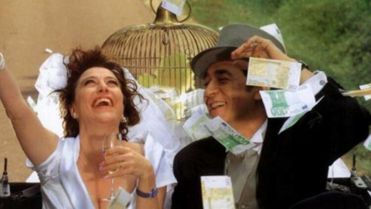 Valeria Bruni Tedeschi et Richard Berry dans le film Ah ! si j'étais riche. © Allociné.