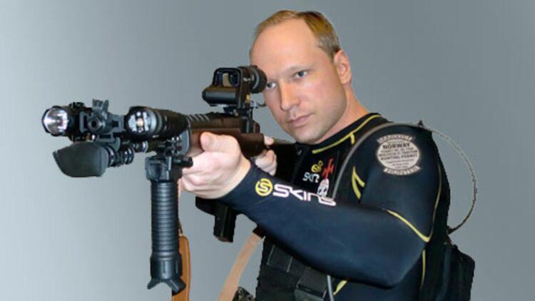 Anders Breivik a tué 77 personnes en juillet 2011, sur l'île d'Utoya et à Oslo (Norvège).© REUTERS.