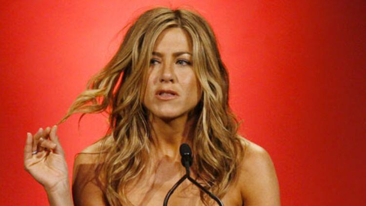 """À 42 ans, Jennifer Aniston a été élue """"femme la plus sexy de tous les temps"""" par Men's Health. © REUTERS."""