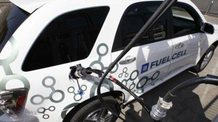 La pile à combustible est utilisée dans certaines voitures électriques et permet un rendement de 50% par rapport aux voitures à moteur thermique© REUTERS.